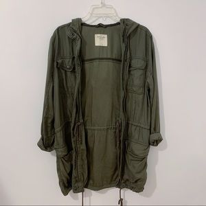 Abercrombie & Fitch Olive Army Jacket